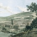 Bath, From The Private Road Leading Print by J. & Ibbetson, J.C. Hassell