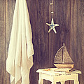 Bathroom Interior Poster by Amanda And Christopher Elwell