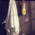 Bathroom Towel Print by Christopher and Amanda Elwell