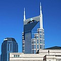 Batman Building And Nashville Skyline Print by Dan Sproul