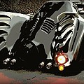 Batmobile 2 Poster by Cathy Smith