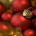 Baubles Print by Anne Gilbert
