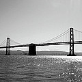 Bay Bridge Print by Rona Black