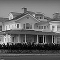 Beach House in Spring Lake - Jersey Shore Poster by Angie Tirado