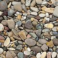 Beach Rocks Print by Artist and Photographer Laura Wrede