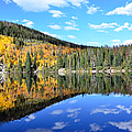 Bear Lake Reflection Print by Tranquil Light  Photography