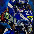 Beast Mode Poster by Chris Eckley