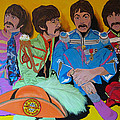 Beatles-Lonely Hearts Club Band Poster by Bill Manson