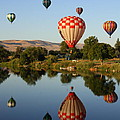 Beautiful Balloon Day Poster by Carol Groenen