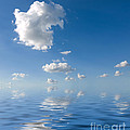 Beautiful Clouds and Sea Print by Boon Mee