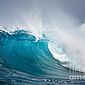 Beautiful Ocean Wave Poster by Boon Mee