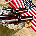 Beer for the American Independence Holiday  Print by Tom  Baker