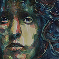 Behind Blue Eyes Print by Paul Lovering