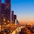 Beijing Central Business District China Print by Fototrav Print