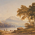 Ben Vorlich and Loch Lomond Print by Anthony Vandyke Copley Fielding