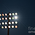 Beneath Friday Night Lights Poster by Trish Mistric