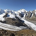 Bernina Mountains, Switzerland Poster by Science Photo Library