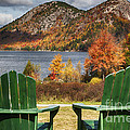 Best Seats in Acadia Print by George Oze