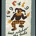 Best Wishes for 1949 Print by Jan Faul