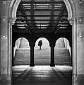 Bethesda Underpass at Central Park in New York City Print by Ilker Goksen