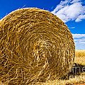Big Straw Bales Poster by Boon Mee