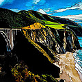 Big Sur Bridge Poster by Bill Caldwell -        ABeautifulSky Photography