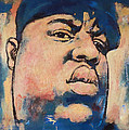 Biggie Smalls art painting poster Print by Kim Wang
