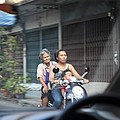 Bikes - Bangkok Thailand - 01131 Poster by DC Photographer