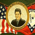 Bill Clinton 42nd American President Print by Peter Art Gallery  - Paintings Photos Prints Posters