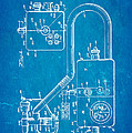 Bird Respirator Patent Art 1962 Blueprint Poster by Ian Monk