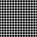 BLACK and WHITE DOTS Print by Daniel Hagerman