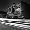 Black And White Light Painting Old City Prime Poster by Dan Sproul