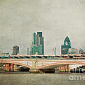 Blackfriars Bridge Poster by Violet Gray