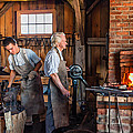 Blacksmith and Apprentice 2 Print by Steve Harrington