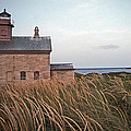 BLOCK ISLAND NORTH WEST LIGHTHOUSE Poster by Skip Willits