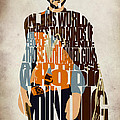 Blondie Poster from The Good the Bad and the Ugly Print by Ayse Deniz