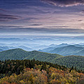 Blue Ridge Mountains Dreams Poster by Andrew Soundarajan
