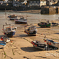 Boats on beach 03 Poster by Pixel Chimp
