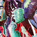 Bob and Jimi Print by Michael Owens