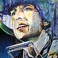 Bob Dylan Tangled up in Blue Poster by Joshua Morton