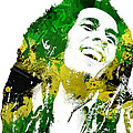 Bob Marley Poster by Mike Maher