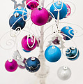 Bold Baubles Print by Anne Gilbert