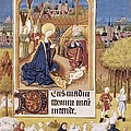 Book Of Hours Of Alonso Fern�ndez Poster by Everett