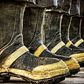 Boots on the Ground Poster by Joan Carroll