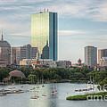 Boston Skyline I Print by Clarence Holmes