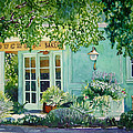 Bouchon Bakery in the Morning Poster by Gail Chandler