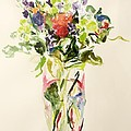 Bouquet  Print by Julie Held