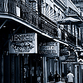 Bourbon Street New Orleans Print by Christine Till