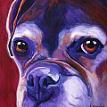 Boxer - Wallace Print by Alicia VanNoy Call