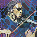 Boyd Tinsley Pop-Op Series Poster by Joshua Morton